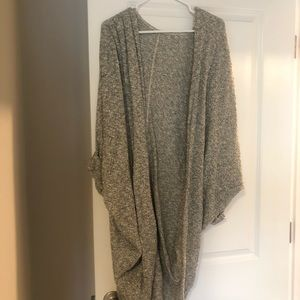 American apparel long cardigan